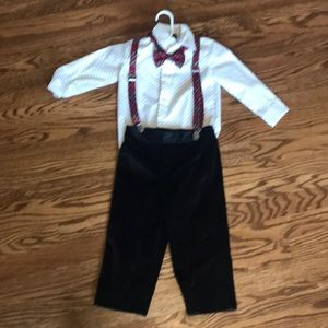 Toddler boy formal outfit